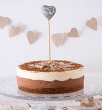 Tortas su šokolado putėsiais
