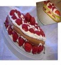 Braškių tortas