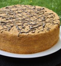 Sliuoksniuotas medaus tortas
