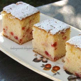 Paprastas raudonųjų serbentų pyragas