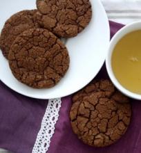 Šokoladiniai Mėtiniai Sausainiai