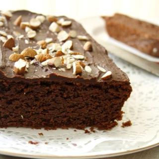 Šokoladinis Migdolų Pyragas