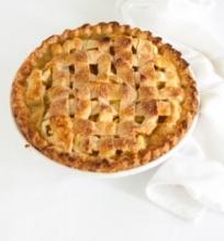 Pyragas su persikų įdaru