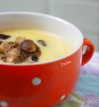 Kreminė grybų sriuba