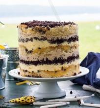 Tortas su šokolado lašeliais