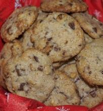 Sausainiai su šokoladu ir druska
