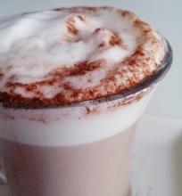 Lengvai pagaminama kava latte