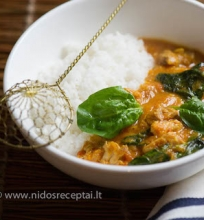 Vištienos curry