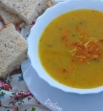 Moliūgų ir porų sriuba
