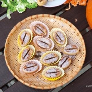 Mini moliūgų keksiukai