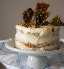 Moliūgų pyragas su kreminiu sūriu