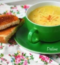 Porų ir sūrio sriuba