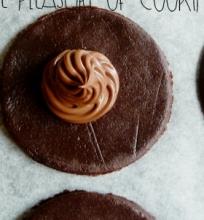 Šokoladiniai sausainiai su  Nutella