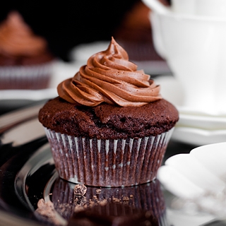 Juodojo šokolado keksiukai