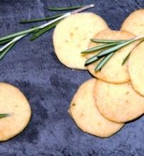 Sviestiniai sausainiai su rozmarinu