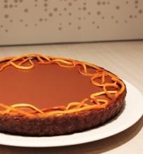Trigubai šokoladinis tartas