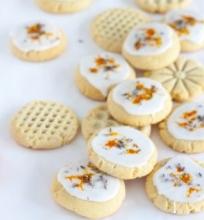 Sausainiai su mandarinais