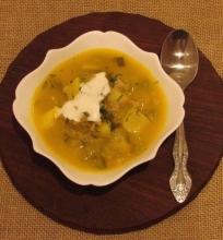 Sena gera raugintų agurkų sriuba