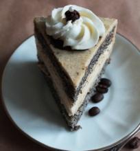 Karamelinis kavos tortas su morengu