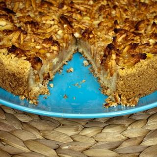 Obuolių ir migdolų pyragas
