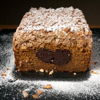 Moliūgų pyragas su šokoladu