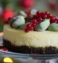 Tradicinis cheesecake su aguonų pagrindu
