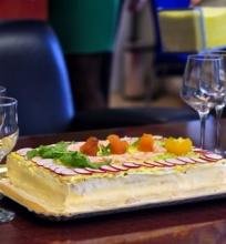 Švediškas sumuštinių tortas