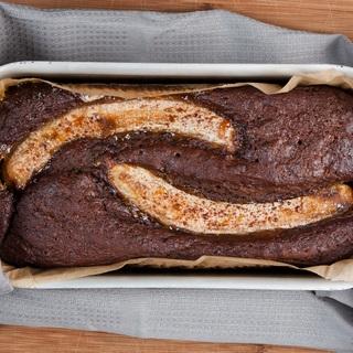 Moliūgo ir malasos pyragas su bananais