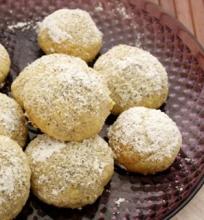 Graikiškų (Pekano) Riešutų Sausainiai