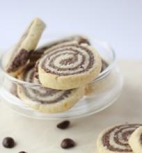 Vaniliniai – kakaviniai sausainiai