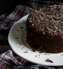 Šokoladinė tarta su kriaušėmis