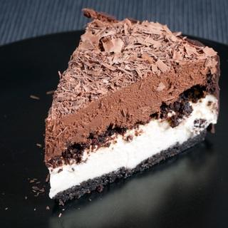 """Varškės pyragas su šokoladiniu musu """"Bangomūša"""""""