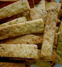Sūrūs sausainiukai su kmynais