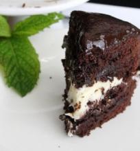 Šokoladinis Tortas su Mėtiniu Kremu