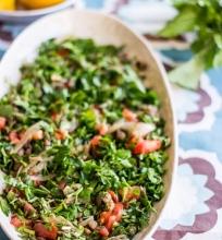 Žaliųjų lėšių salotos