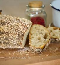 Duona be tešlos minkymo