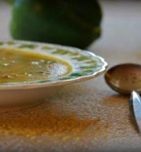 Soti sriuba su bulgur kruopomis