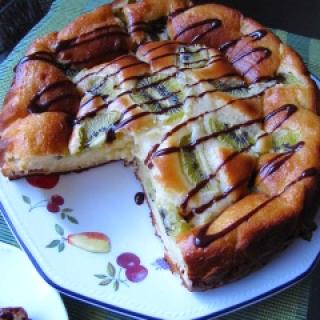 Jogurtinis pyragas su kivi