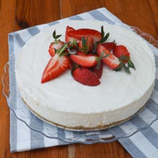 Nekeptas maskarponės tortas