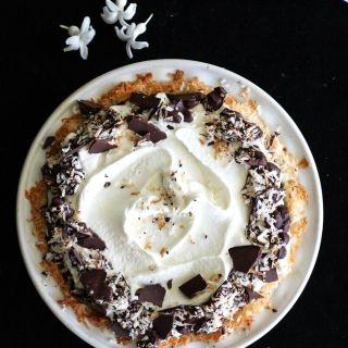 Pyragas su kokosiniu kremu