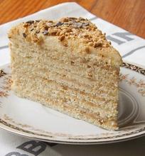 Tortas keptas keptuvėje