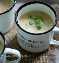Sparagų sriuba