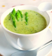 Prancūziška šparagų sriuba