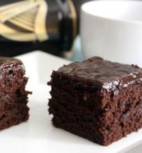 Šokoladiniai Brauniai su Guinness alum