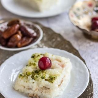 Turkiškas gullac desertas