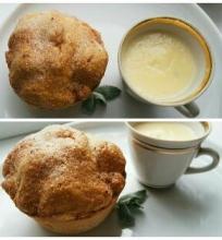 Obuolių pyragas su anglišku kremu