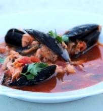Žuvies sriuba su midijomis