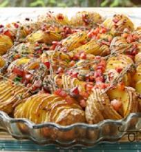 traškios bulvytės, keptos orkaitėje