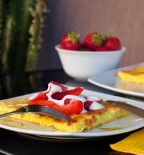 Saldus varškės omletas