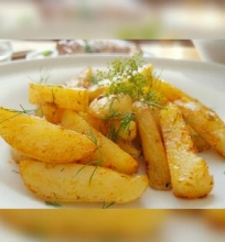 Aštrios bulvių lazdelės